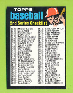 1971-Topps-2nd-Series-Checklist-Card-123-EX-NrMT