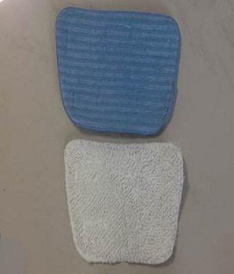 Ariete Kit 2 Putztücher Abwaschbar Besen Dampf Steam Mop Floor Kehrmaschine 2705