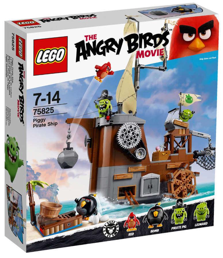 LEGO® Angry Birds™ 75825 Piggy Pirathe Ship NEU OVP rot Bomb Pirate Pig Leonard
