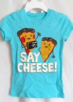 Girls Xs 4 4t Blue Camera Say Cheese Camera Shirt The Children's Place