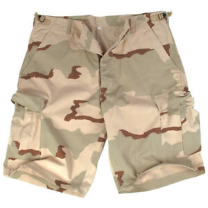 af0473c05a1 Bermuda Ripstop Cargo Combat Mens Army Style Shorts Fishing Desert ...