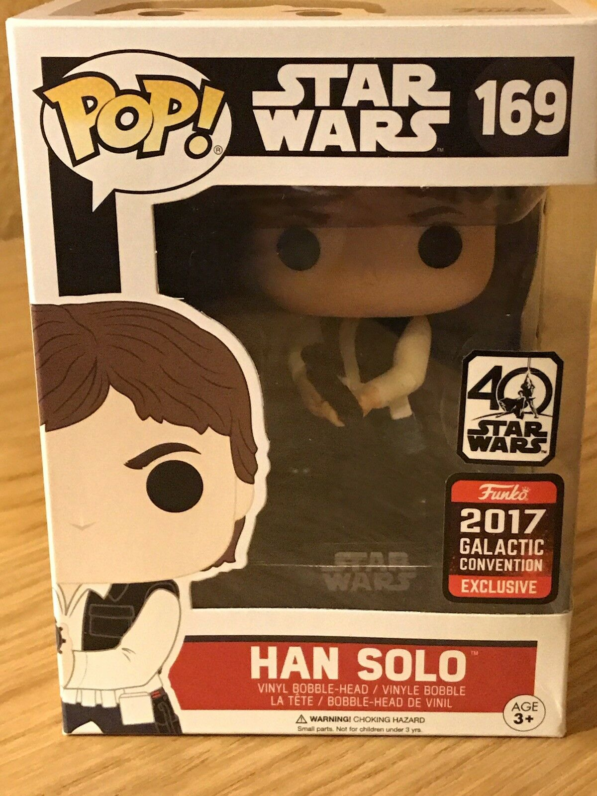 Han Solo Funko Pop (Star Wars) With Pop Predector