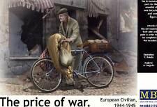 MASTERBOX the price of War civilian & bicyle bicicleta modelo-kit 1:35 diorama