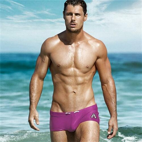 Summer Swimwear Men/'s Boxer Briefs Beach Swim Trunks Swimming Swimsuit