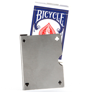 Card Guard Stainless Perforated by Bazar de Magic