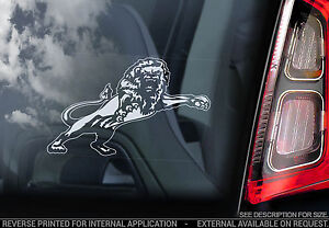 Millwall-FC-Car-Window-Sticker-The-Lions-Football-Club-Promotion-Sign-Lion