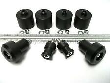 KAWASAKI ZX9R 1998 - 03 FULL SET OF 8 CRASH MUSHROOMS  SLIDERS BUNGS BOBBINS S5N