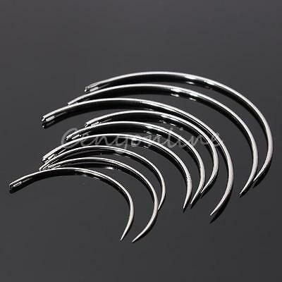 3 Models Mixed Veterinary Suture Needles Surgical Inst For Animal Fur Sew 9PCS!