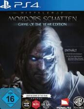 Playstation 4 Schlacht um Mittelerde Mordors Schatten Game of the Year NEU