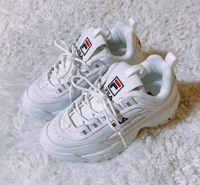 FILA 2018SS DISRUPTOR II WHITE FS1HTA1071X UNISEX SHOES US Price reduction Brand discount