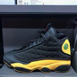 1ec3ae005fbf45 Air Jordan Retro 13 Sneakers Shoes 414571-035 Melo Black Yellow Sz 8 ...