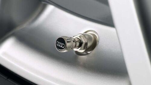 Audi originales tapas de válvula para goma y acero válvulas 4l0071215-nuevo