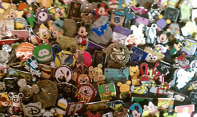 Disney Trading Pin 25 lot HM-RACK-LE-CAST no duplicates Fast Shipping in US