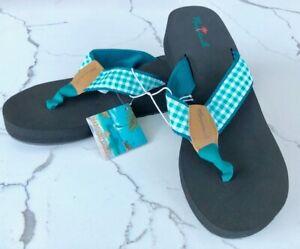 New-Women-039-s-Margaritaville-Aruba-Navy-Sandal-Flip-Flop-US-Size-7