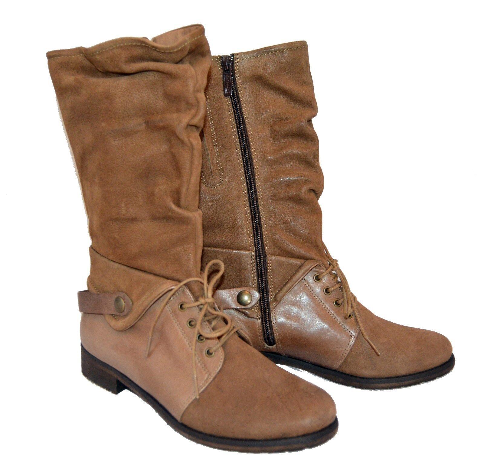 Softwaves botas botas de invierno 100% cuero noble cómomujerte 199,- euro ms230