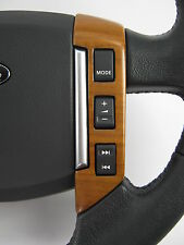 Walnut wood Interior Steering Wheel switch pack for Range Rover Sport 2005-2009