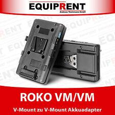 ROKO VM/VM V-Mount Akkuadapter / Sandwich Adapter mit D-Tap Anschluss (EQ977)