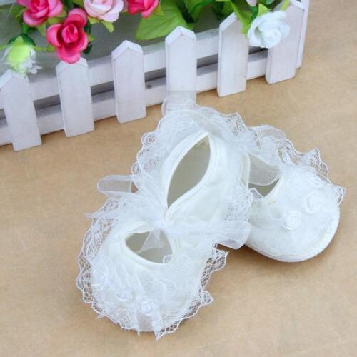 Princess Ballet Baby Girls Shoes Toddler Newborn Tulle Soft Crib Sole PreWalker