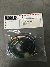 Five Way Flat Trailer End Plug Connector - MALE - Rigid Hitch P/N 2409