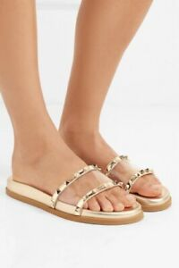 Authentic Valentino Rockstud Clear PVC
