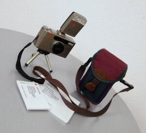 edle-Leica-Minilux-Zoom-35-70-mm-mit-CF-Blitz-Tasche-Stativ-Seriennr-2436824