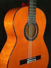 SPANISH GUITAR JUAN MONTES. FLAMED MAPLE. GUITARRA FLAMENCO ROJA. HARD CASE