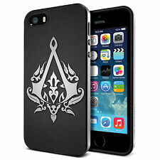 Assassins Creed Logo  for iPhone 4/4S 5/5S 5C 6 6S Plus Hard Case tr1