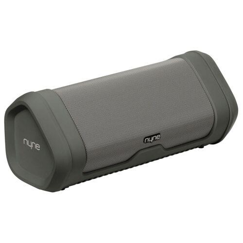 Nyne Vibe Water Resistant Portable Speaker Gray Dustproof