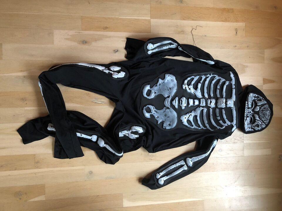 Udklædningstøj, Skelet str 14 år