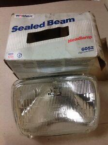 Wagner Lighting 6052 Sealed Beam Headlight Headlamp Bulb