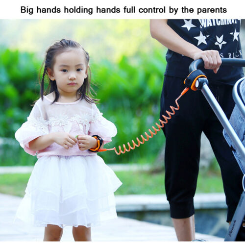 Outdoor Kids Mom Traction Rope Leash Safe Link Harness Wrist Band Belt Anti Lost