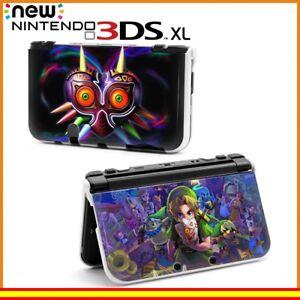 Funda-Protector-Nintendo-New-3DS-XL-Carcasa-Dibujos-Zelda-Mascara-Majora