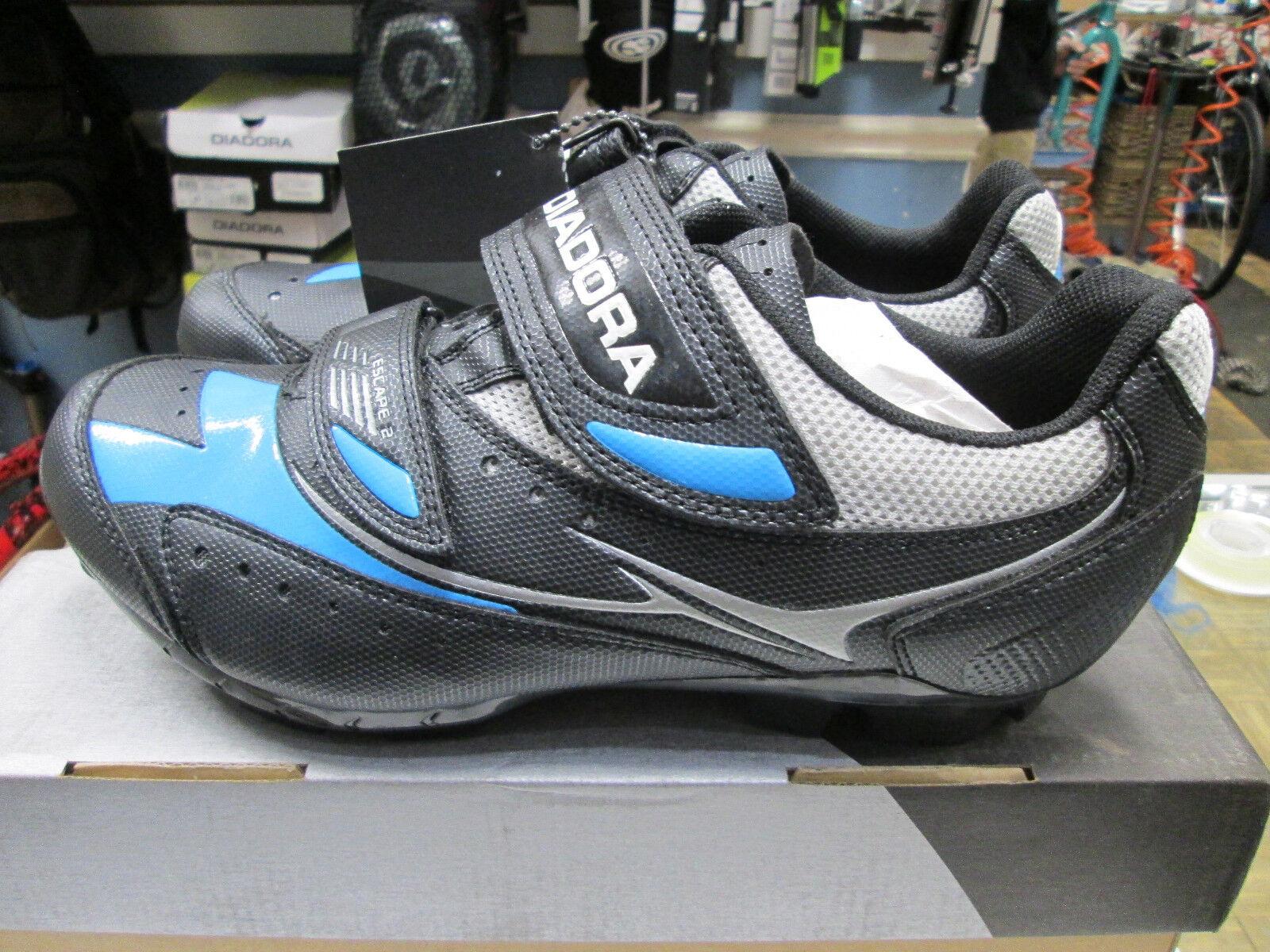 Diadora Escape 2 37 US Women's Mountain MTB Spin Touring Cycling shoes