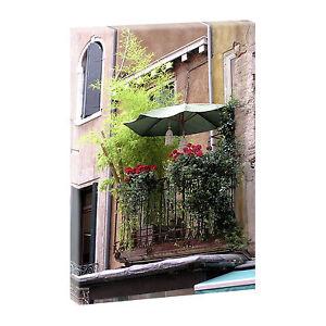 top bilder kunstdruck auf leinwand xxl toskana 2 mediterran 100cm 65cm v0420402 ebay. Black Bedroom Furniture Sets. Home Design Ideas