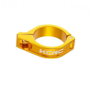 KCNC-Road-Mountain-Bike-Front-Derailleur-FD-Clamp-for-Brazed-on-16g-34-9mm-Gold