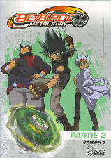 Beyblade Metal Fury : Saison 3 Partie 2 (3 DVD)