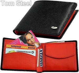 DALVEY-Herren-Geldboerse-Brieftasche-Geldbeutel-Portemonnaie-Geldtasche-Leder-Neu