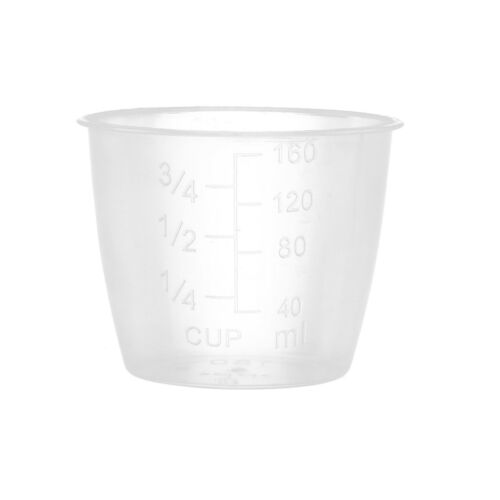 10x Rice Measuring Cups 160ML Clear Plastic Kitchen Rice Cooker Replacement Tool