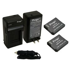 2 Battery + Charger For PANASONIC LUMIX DMW-BCM13E DMC-ZS30 DMC-TS5 DMW-BCM13PP
