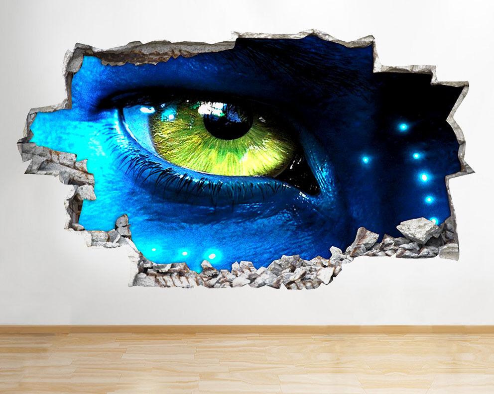 R908 Fantastico Bambini Avatar Eye Camera  adesivo da parete camera bambini