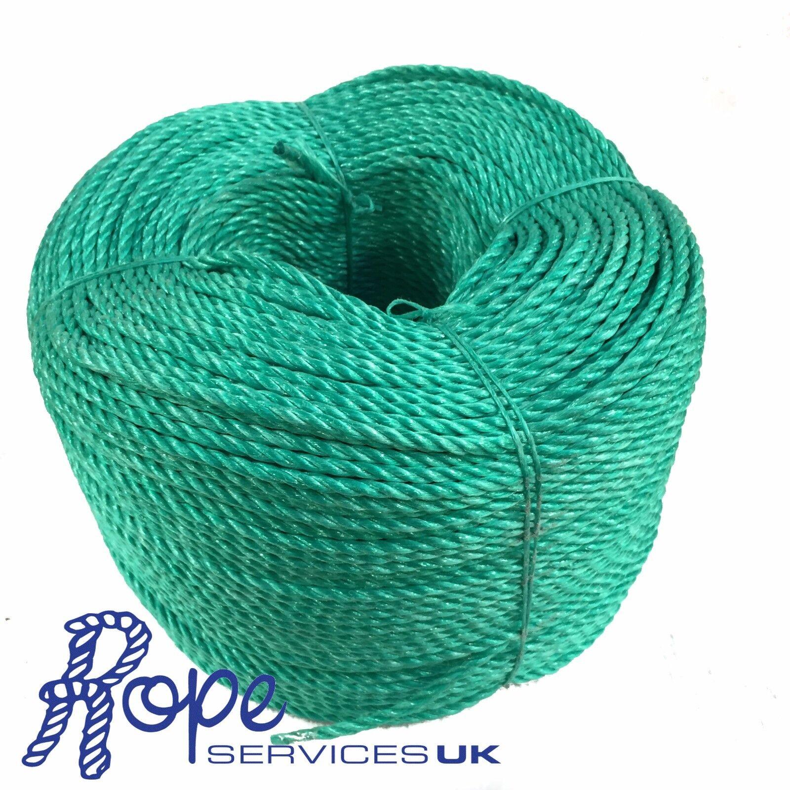 Grün Poly-Seil Rollen,Poly Seil, Polypropylen, Polyprop, Landwirtschaft, Planen