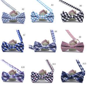 Child-Kids-Boys-Toddler-Infant-Bowtie-Pre-Tied-Wedding-Party-Bow-Tie-Necktie-GX