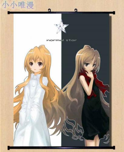 Anime TIGER×DRAGON Toradora Home Decor Wall Scroll Decorate Poster 50X70cm D255