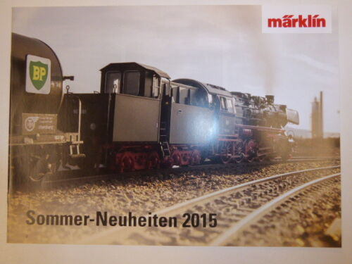 Märklin 258931 Sommer Neuheiten 2015 Katalog,Neuware