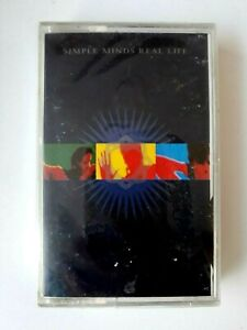 Simple-Minds-Real-Life-Cassette-1991-Made-in-Saudi-Arabia-Brand-New-Sealed
