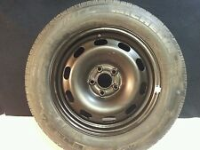 1999 VOLKS WAGON JETTA OEM SPARE TIRE /FULL SIZE EMERGENCY SPARE WHEEL.
