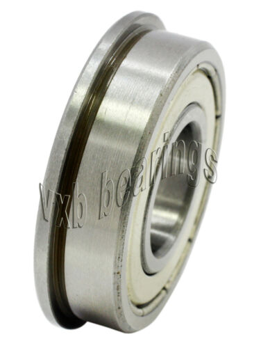 F6807ZZ Flanged Bearing Shielded Chrome Steel 35x47x7