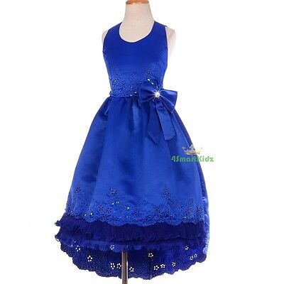 Flowergirl Flower Girl Dress Train Wedding Bridesmaid Party Size 2 -12 FG181