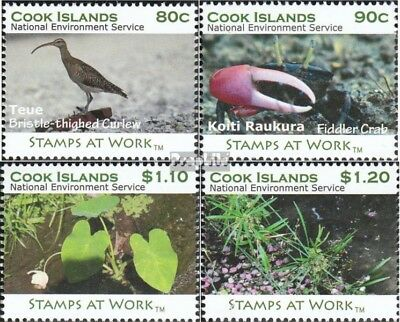 Honesty Cookinseln 1710-1713 Mint Never Hinged Mnh 2011 Year The Wetlands Careful Calculation And Strict Budgeting Cook Islands (1965-now) Stamps