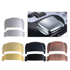 Practical-Alloy-Bridge-Cover-Pickup-Cover-for-PB-Precision-Bass-Parts-DIY